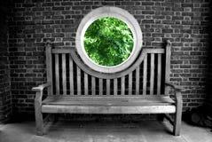 Le portail de la nature Image libre de droits
