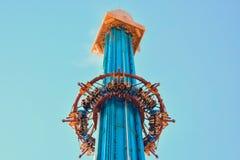 Le portate di furia di Falcon's di altezza offre una vista incredibile che allunga bene dopo Tampa del centro fotografia stock