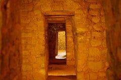 Le porte al monumento nazionale azteco Fotografie Stock Libere da Diritti