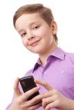 Garçon d'adolescent Photographie stock libre de droits