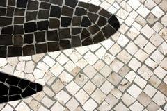 Le Portugais a fait un pas Photos libres de droits