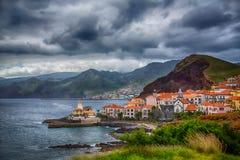 Le Portugal, île de la Madère, Canical Images stock