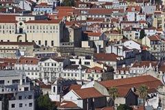 Le Portugal : Bâtiments à Lisbonne centrale Photographie stock