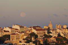 Le Portugal : Bâtiments à Lisbonne centrale Images libres de droits