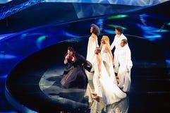 Le Portugal chez Eurovision 2008   photos stock