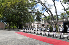 Le Portugal - garde d'honneur présidentielle Photos libres de droits