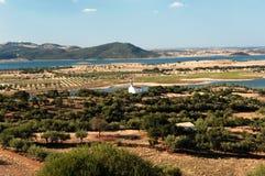 Le Portugal ; l'Alentejo ; Horizontal type photo stock