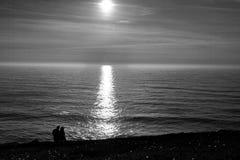 Le Portugal l'explorant Océan de Cabo DA Roca et landsc de Mountain View images libres de droits