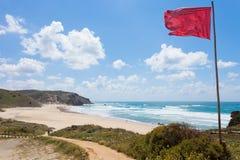 Le Portugal - le Praia font Amado Image stock