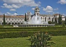 Le Portugal, Lisbonne Monastère de Jeronimos images libres de droits