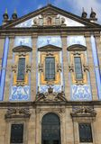 Le Portugal, Porto ; façade des almas de capela DAS images stock