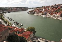 Le Portugal, Porto ; vue de la ville antique photo stock