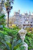 Le Portugal. Sintra. Regaleira de Quinta DA Images libres de droits