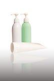 Le positionnement de nettoyage a isolé Photo stock
