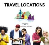 Le posizioni di viaggio culturale shrine il concetto tradizionale immagini stock libere da diritti