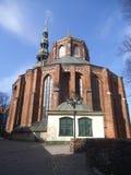 Le postérieur de St Peters Church à Riga photos libres de droits