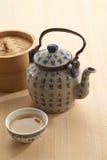 Le pot chinois de thé Images libres de droits