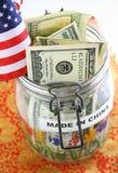 Concept de dette nationale Image stock