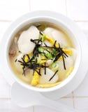 Le potage coréen d'an neuf Image stock