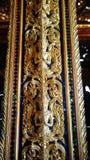 Le poteau dans le temple Images libres de droits