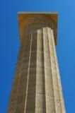 Le poteau en pierre antique. photographie stock
