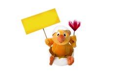 Le poulet dans l'oeuf Photo libre de droits