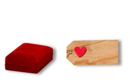 Le présent de Valentine Photos stock