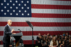 Le Président Barack Obama Photo libre de droits