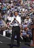 Le Président Barack Obama Image libre de droits