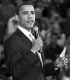 Le Président Barack Obama des Etats-Unis Image libre de droits