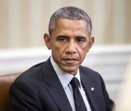 Le Président Barack Obama des Etats-Unis Images libres de droits