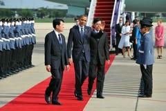 Le Président Barack Obama des USA Photo stock
