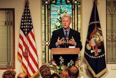 Le Président Bill Clinton Photo libre de droits