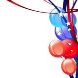 Le Président Day Patriotic Background Images stock