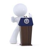 Le président des Etats-Unis d'Amérique Photo libre de droits