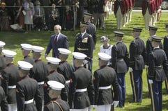 Le Président George W. Bush Images libres de droits