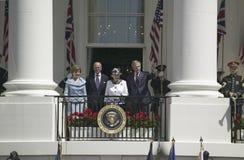 Le Président George W. Bush Photo libre de droits