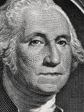 Le Président George Washington des USA font face au portrait sur la poupée des Etats-Unis un Photographie stock libre de droits