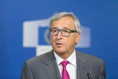 Le Président Jean-Claude Juncker de Commission européenne Image stock