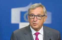 Le Président Jean-Claude Juncker de Commission européenne Photos stock
