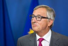 Le Président Jean-Claude Juncker de Commission européenne Images libres de droits
