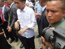 Le Président Jokowi Images libres de droits