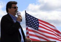 Le Président Mike Helton de NASCAR Images stock