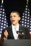 Le Président Obama Photographie stock libre de droits