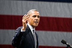 Le Président Obama Photographie stock