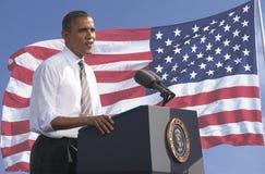 Le Président Obama Image libre de droits