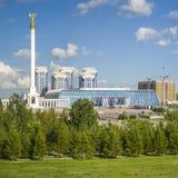 Le Président Park à Astana, Kazakhstan Photos libres de droits