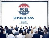 Le Président républicain Concept de groupe d'élection de Démocrate Photos stock
