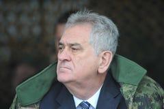 Le Président serbe Tomislav Nikolic Images stock