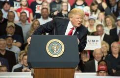 Le Président Trump Photo stock